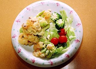 そら豆の天ぷら