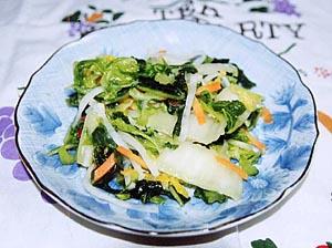 白菜の七色漬け