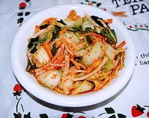 白菜の七色漬けキムチ